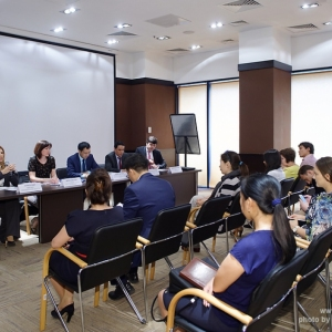 Tax Committee: Meeting with the Department of State Revenue of Almaty