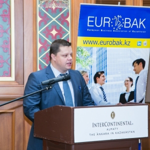 Business Breakfast with Deputy Governor of National Bank of RK, Mr Oleg Smolyakov