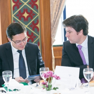 Business Lunch With The Governor Of The National Bank Of RK, Mr Daniyar Akishev 25