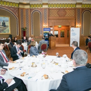 Business Lunch With The Governor Of The National Bank Of RK, Mr Daniyar Akishev 43
