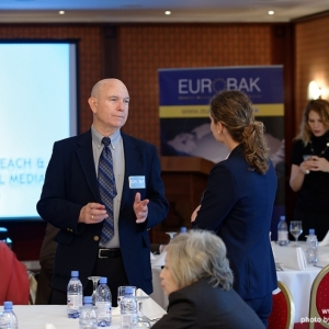 EUROBAK Talks With Mr Charles Martin, Public Affairs Officer Of The Consulate General Of The USA 2