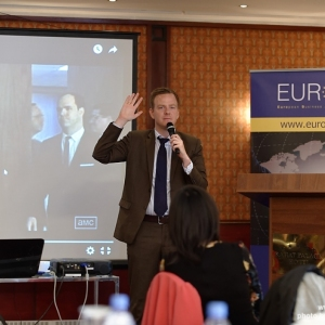 EUROBAK Talks With Mr Charles Martin, Public Affairs Officer Of The Consulate General Of The USA 32