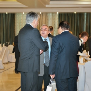 EUROBAK Business Lunch With Mr Erlan Idrissov And Mr Asset Issekeshev 8