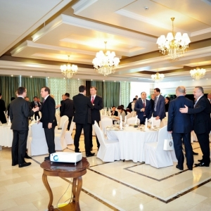 EUROBAK Business Lunch With Mr Erlan Idrissov And Mr Asset Issekeshev 16