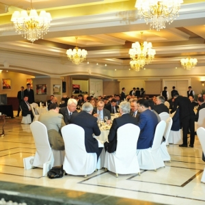 EUROBAK Business Lunch With Mr Erlan Idrissov And Mr Asset Issekeshev 30
