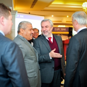 EUROBAK Business Lunch With Mr Erlan Idrissov And Mr Asset Issekeshev 21