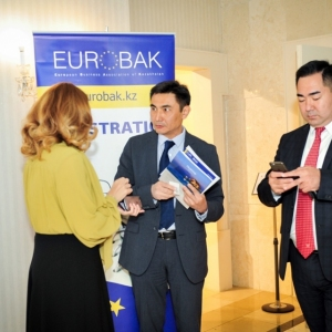 EUROBAK Business Lunch With Mr Erlan Idrissov And Mr Asset Issekeshev 10