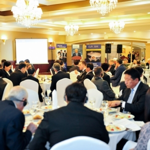 EUROBAK Business Lunch With Mr Erlan Idrissov And Mr Asset Issekeshev 29