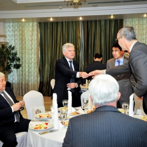 EUROBAK Business Lunch With Mr Erlan Idrissov And Mr Asset Issekeshev 23