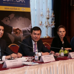 Round table with Mr Erlan Khairov, Vice Minister of investments and development of RK 44