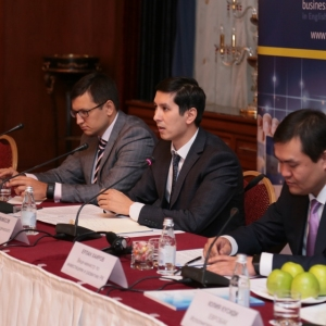 Round table with Mr Erlan Khairov, Vice Minister of investments and development of RK 40