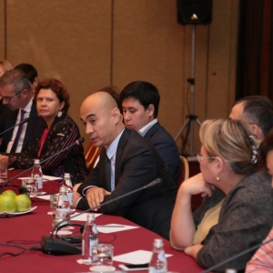 Round table with Mr Erlan Khairov, Vice Minister of investments and development of RK 46