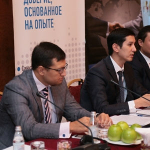 Round table with Mr Erlan Khairov, Vice Minister of investments and development of RK 41