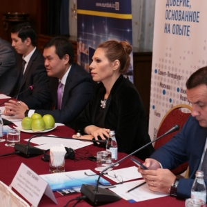 Round table with Mr Erlan Khairov, Vice Minister of investments and development of RK 38