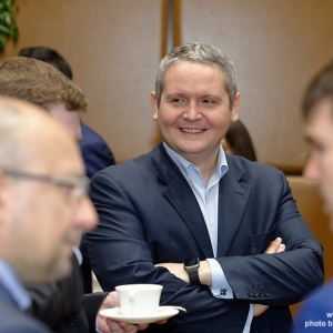 Business-Breakfast with Kenges Rakishev and Marc Holtzman 12