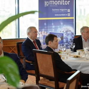 CEO Business Lunch with Aigoul Kenjebayeva, Managing Partner of Dentons Kazakhstan 23