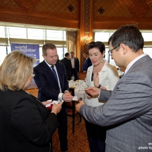 CEO Business Lunch with Aigoul Kenjebayeva, Managing Partner of Dentons Kazakhstan 16