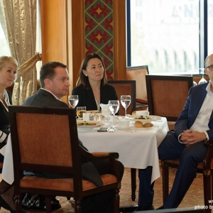 CEO Business Lunch with Aigoul Kenjebayeva, Managing Partner of Dentons Kazakhstan 24