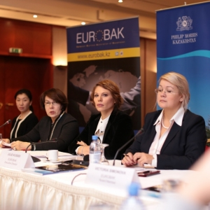 Round Table With Gulzhana Karagussova, Chairperson Of The Finance And Budget Committee Of Majilis Of RK 1