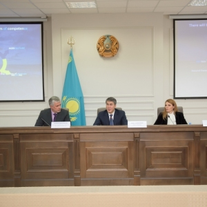 EUROBAK Meeting With Asset Issekeshev, Akim Of Astana
