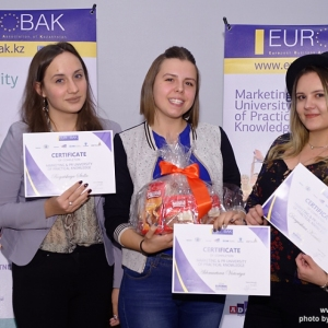 Awarding of Students participated in projects EUROBAK HR University and EUROBAK Marketing & PR University of Practical Knowledge 20