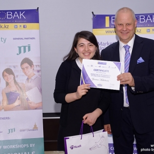 Awarding of Students participated in projects EUROBAK HR University and EUROBAK Marketing & PR University of Practical Knowledge 29
