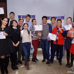 Awarding of Students participated in projects EUROBAK HR University and EUROBAK Marketing & PR University of Practical Knowledge 17