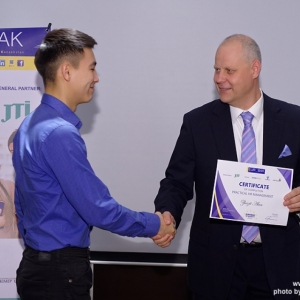 Awarding of Students participated in projects EUROBAK HR University and EUROBAK Marketing & PR University of Practical Knowledge 25