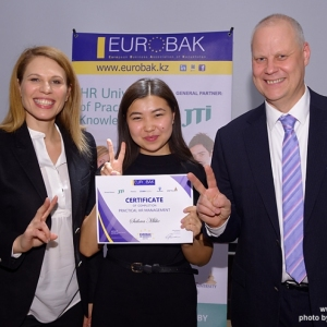 Awarding of Students participated in projects EUROBAK HR University and EUROBAK Marketing & PR University of Practical Knowledge 18