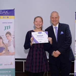 Awarding of Students participated in projects EUROBAK HR University and EUROBAK Marketing & PR University of Practical Knowledge 10