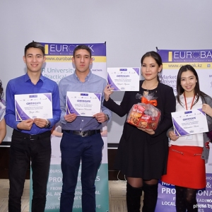Awarding of Students participated in projects EUROBAK HR University and EUROBAK Marketing & PR University of Practical Knowledge 28