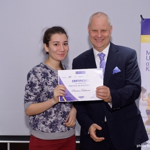 Awarding of Students participated in projects EUROBAK HR University and EUROBAK Marketing & PR University of Practical Knowledge 23