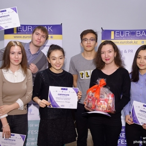 Awarding of Students participated in projects EUROBAK HR University and EUROBAK Marketing & PR University of Practical Knowledge 14