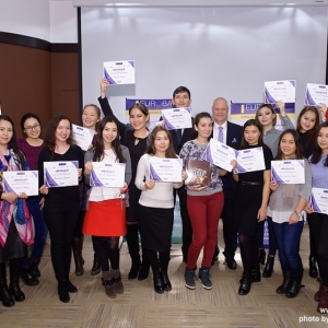 Awarding of Students participated in projects EUROBAK HR University and EUROBAK Marketing & PR University of Practical Knowledge 21