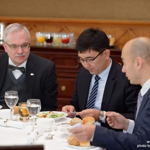 CEO Business Lunch With The Chairman Of Investment Committee 15