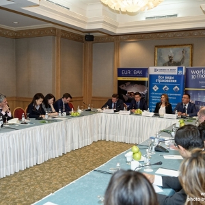 Round Table With The Governor Of The National Bank Of RK 25