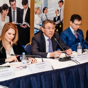 EUROBAK Round Table With Ardak Tengebayev, Chairman Of The State Revenue Committee 24