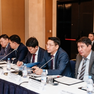 EUROBAK Round Table With Ardak Tengebayev, Chairman Of The State Revenue Committee 10