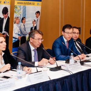 EUROBAK Round Table With Ardak Tengebayev, Chairman Of The State Revenue Committee 38