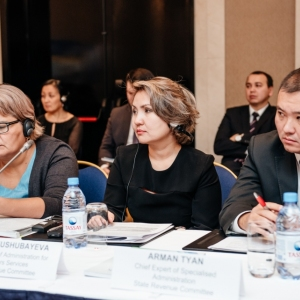 EUROBAK Round Table With Ardak Tengebayev, Chairman Of The State Revenue Committee 19