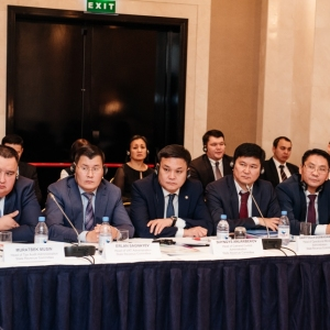 EUROBAK Round Table With Ardak Tengebayev, Chairman Of The State Revenue Committee 35