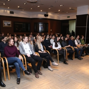 Awarding of Students participated in projects EUROBAK HR and Marketing & PR Universities of Practical Knowledge 2017  7