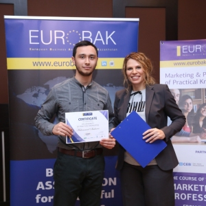 Awarding of Students participated in projects EUROBAK HR and Marketing & PR Universities of Practical Knowledge 2017  25