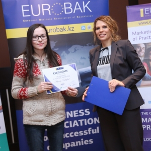 Awarding of Students participated in projects EUROBAK HR and Marketing & PR Universities of Practical Knowledge 2017  21