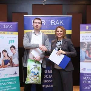 Awarding of Students participated in projects EUROBAK HR and Marketing & PR Universities of Practical Knowledge 2017  26