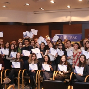 Awarding of Students participated in projects EUROBAK HR and Marketing & PR Universities of Practical Knowledge 2017