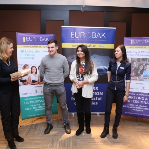 Awarding of Students participated in projects EUROBAK HR and Marketing & PR Universities of Practical Knowledge 2017  16