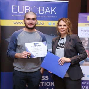 Awarding of Students participated in projects EUROBAK HR and Marketing & PR Universities of Practical Knowledge 2017  23
