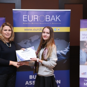 Awarding of Students participated in projects EUROBAK HR and Marketing & PR Universities of Practical Knowledge 2017  10