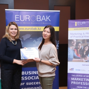 Awarding of Students participated in projects EUROBAK HR and Marketing & PR Universities of Practical Knowledge 2017  8